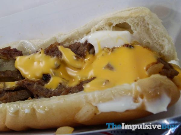 Sonic Footlong Philly Cheesesteak 4