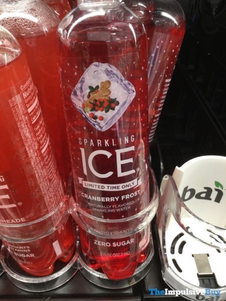 Sparkling Ice Limited Time Only Cranberry Frost