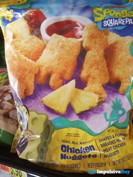 Spongebob Squarepants Chicken Nuggets