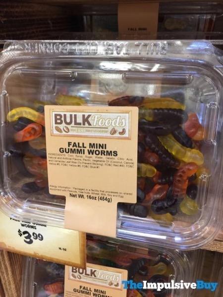 Sprouts Fall Mini Gummi Worms 18MSSPR