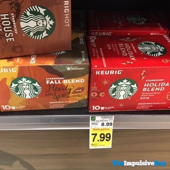 Starbucks Fall Blend Hearty with Spice Notes 2018 and Holiday Blend 2018