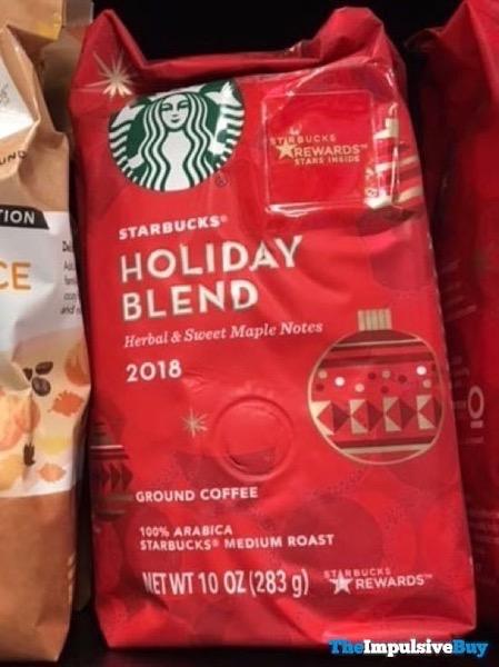 Starbucks Holiday Blend 2018
