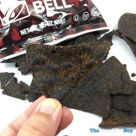 Taco Bell Diablo Tortilla Chips 3