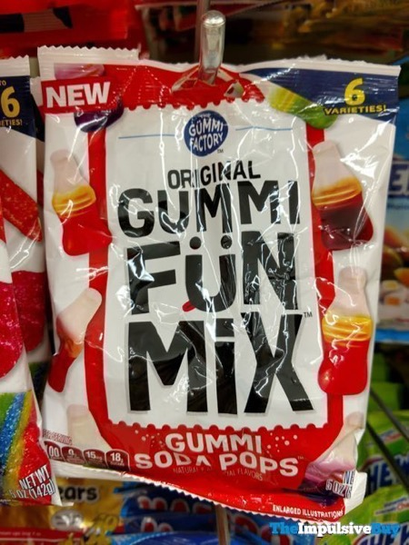 The Gummi Factory Gummi Soda Pops Original Gummy Fun Mix