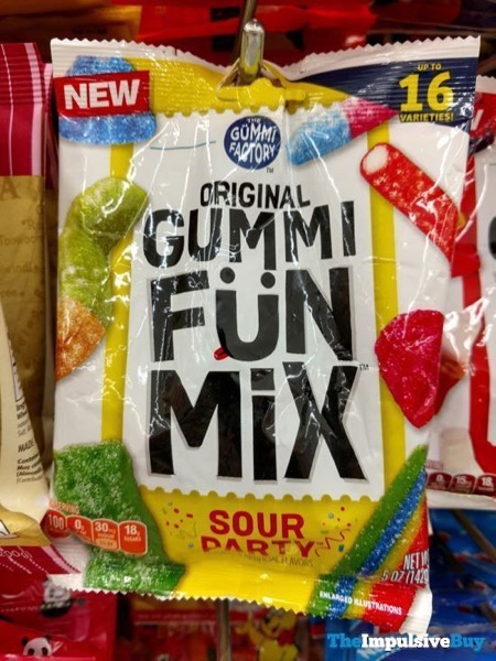 The Gummi Factory Sour Party Original Gummy Fun Mix