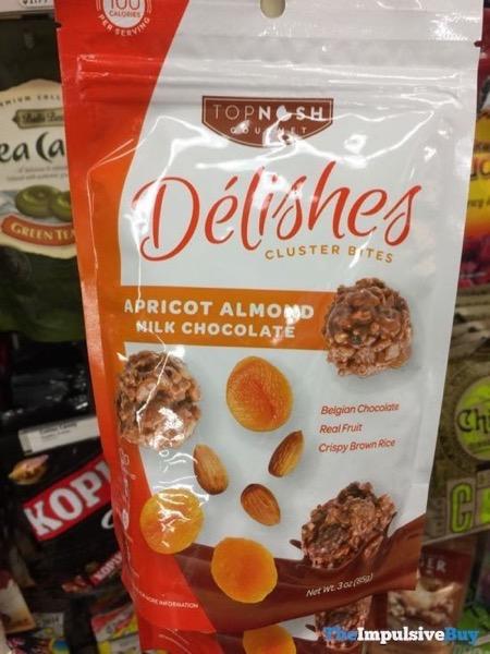 Top Nosh Apricot Almond Milk Chocolate Delishes Cluster Bites