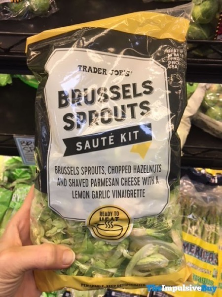 Trader Joe s Brussels Sprouts Saute Kit