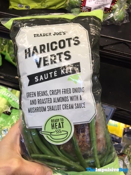 Trader Joe s Haricots Verts Saute Kit