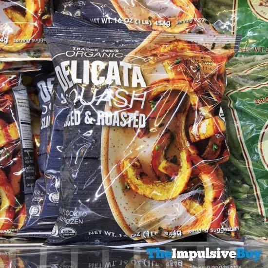 Trader Joe s Organic Delicata Squash Sliced  Roasted