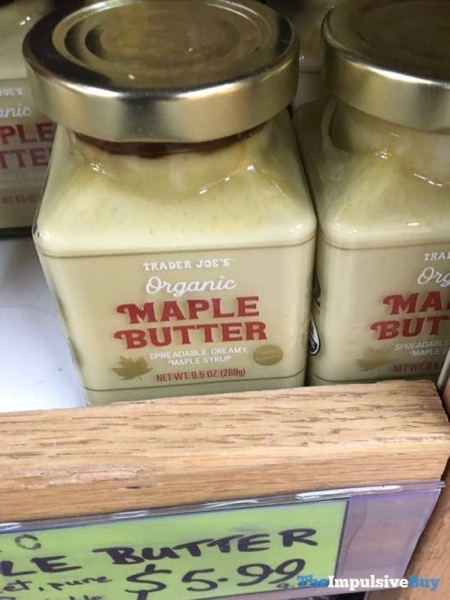 Trader Joe s Organic Maple Butter