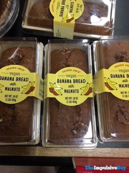 Trader Joe s Vegan Banana Bread with Walnuts