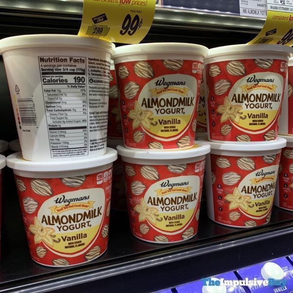 Wegmans Almond Milk Yogurt Vanilla  24 oz