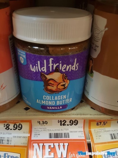 Wild Friends Vanilla Collagen Almond Butter