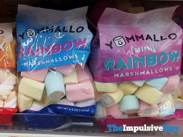 Yummallow Rainbow and Mini Rainbow Marshmallows
