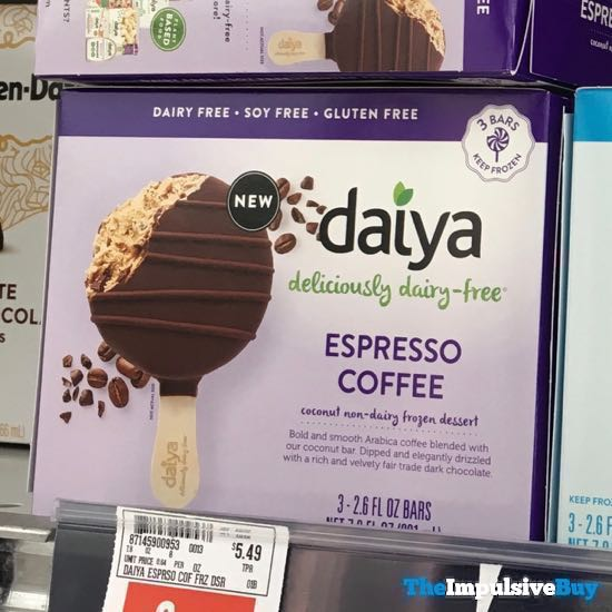 Daiya Espresso Coffee Coconut Non Dairy Frozen Dessert