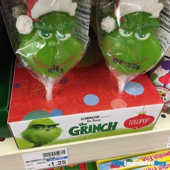 Dr Seuss The Grinch Lollipop