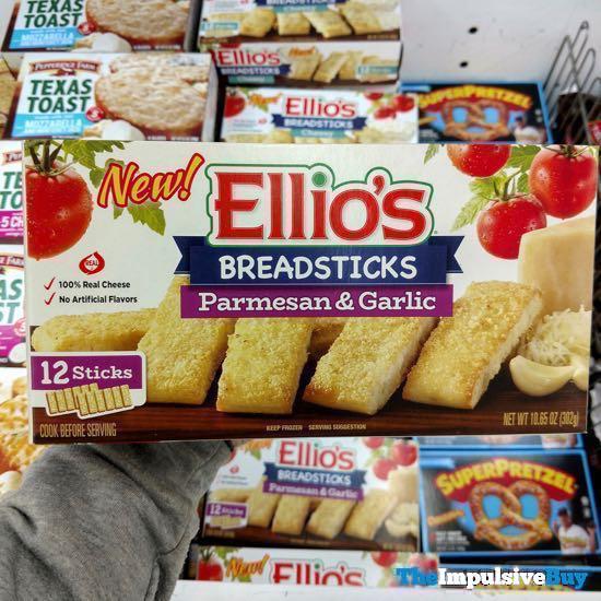 Ellio s Breadsticks Parmesan  Garlic