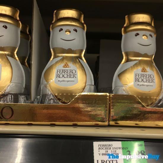 Ferrero Rocher Snowman