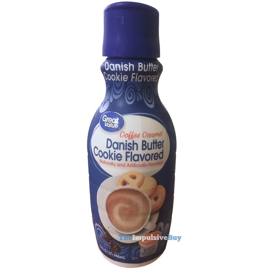 Great Value Danish Butter Cookie Coffee Creamer