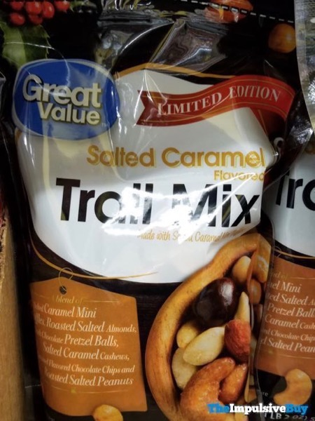 Great Value Limited Edition Salted Caramel Trail Mix