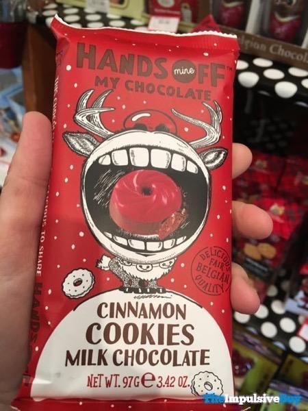 Hands Off My Chocolate Cinnamon Cookies Milk Chocolate Bar