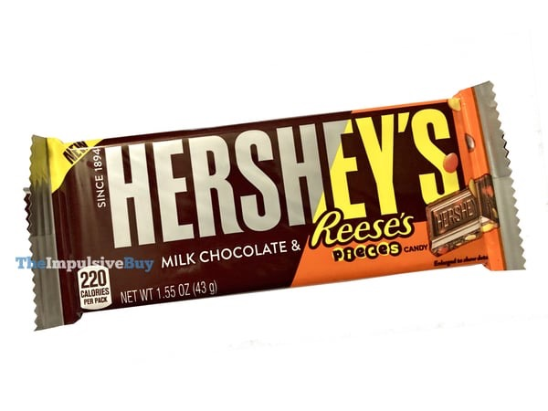 Hershey s Milk Chocolate  Reese s Pieces Bar