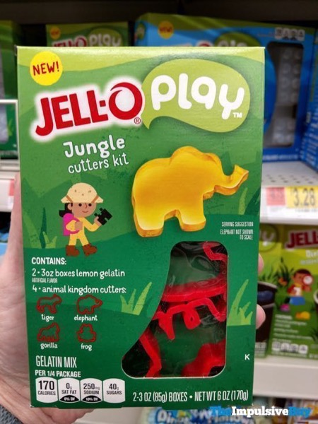 Jello Play Jungle Cutters Kit