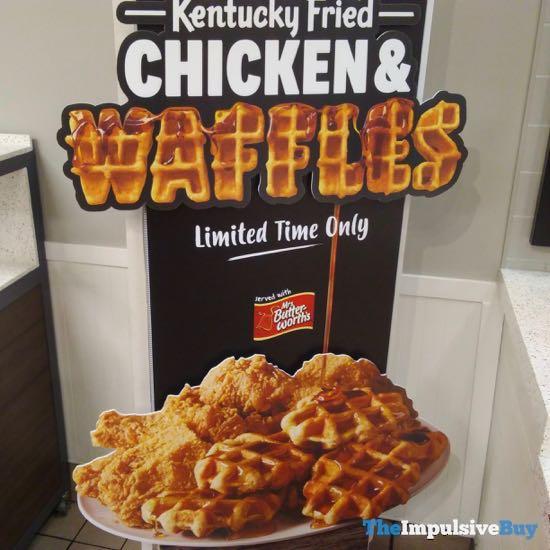 KFC Chicken  Waffles