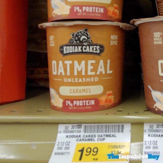 Kodiak Cakes Caramel Oatmeal Unleashed