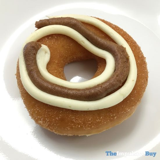 Krispy Kreme Cinnamon Swirl Doughnut