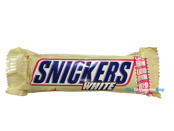 snickers white  QUICK REVIEW: Limited Edition Snickers White (Japan) - The Impulsive Buy