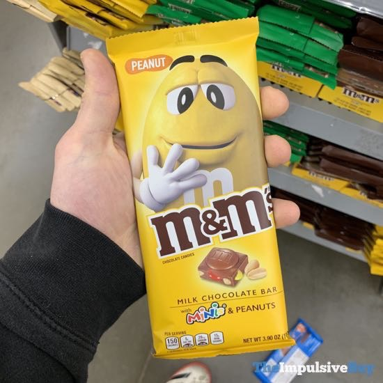 M M s Peanut Milk Chocolate Bar