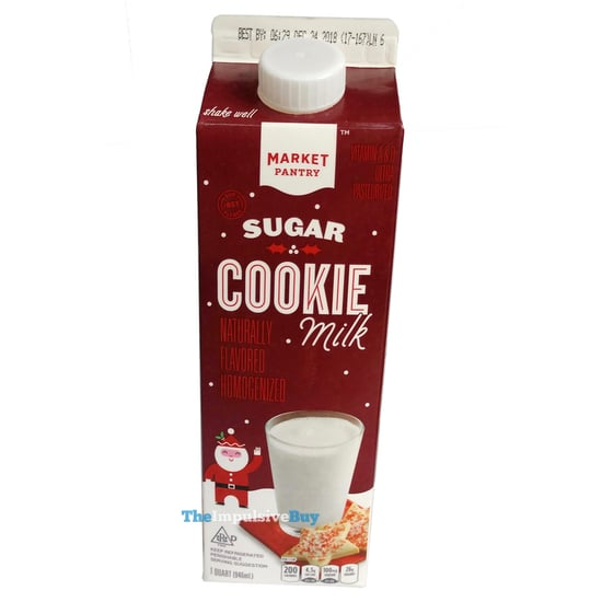 Market Pantry Sugar Cookie Milk