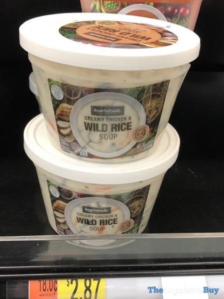 Marketside Creamy Chicken  Wild Rice Soup