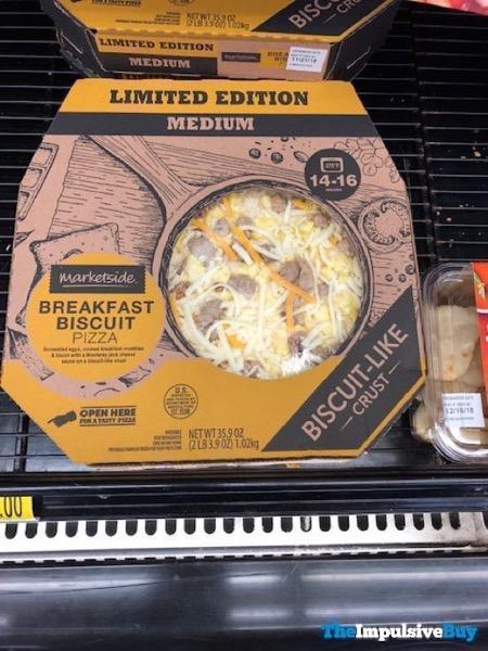Marketside Limited Edition Breakfast Biscuit Pizza