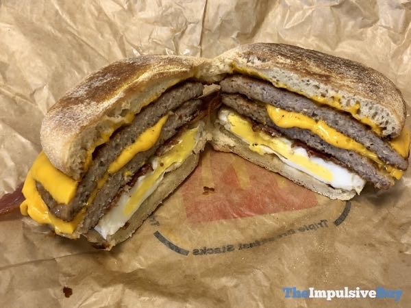 McDonald s Triple Breakfast Stack 2