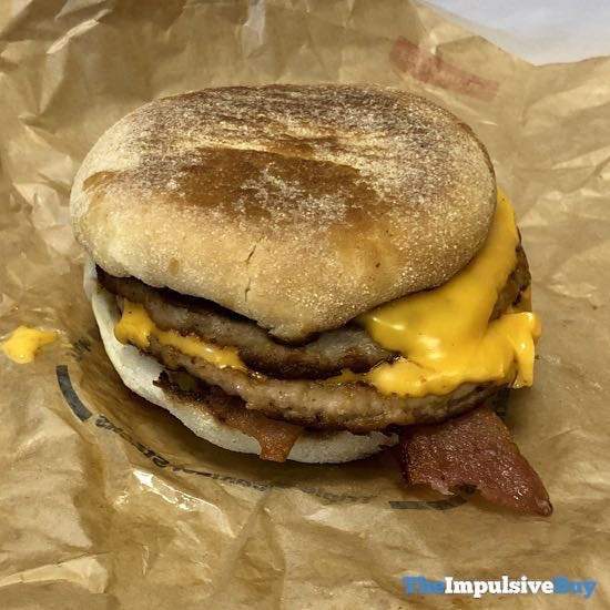 McDonald s Triple Breakfast Stack