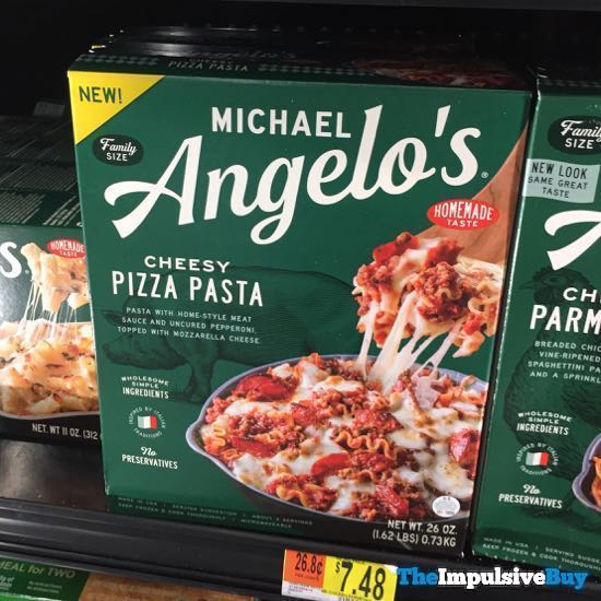 Michael Angelo s Cheesy Pizza Pasta