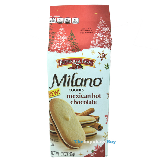 Pepperidge Farm Cinnamon Chocolate Milano Cookies 4