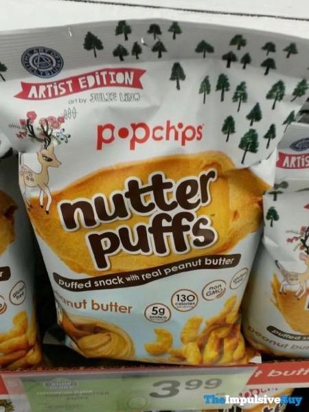 Popchips Artist Edition Peanut Butter Nutter Puffs