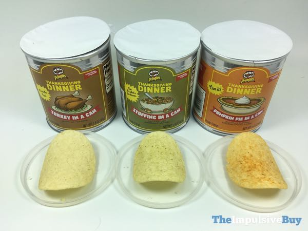 Pringles Thanksgiving Dinner 2