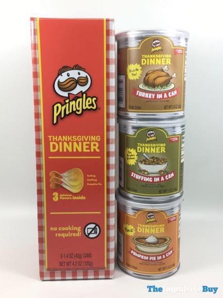 Pringles Thanksgiving Dinner