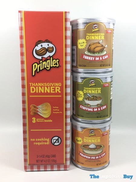 Pringles Thanksgiving Dinner