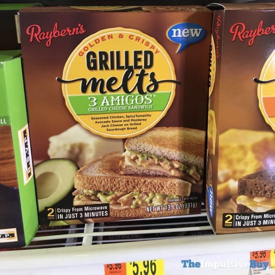 Raybern s Grilled Melts 3 Amigos Grilled Cheese Sandwich