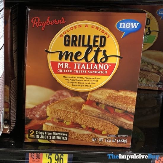 Raybern s Grilled Melts Mr Italiano Grilled Cheese Sandwich