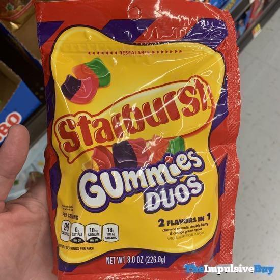 Starburst Gummies Duos