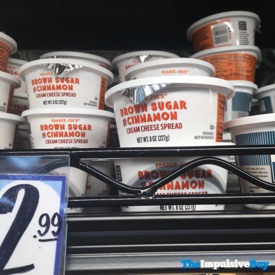 Trader Joe s Brown Sugar and Cinnamon Cream Cheese Spread
