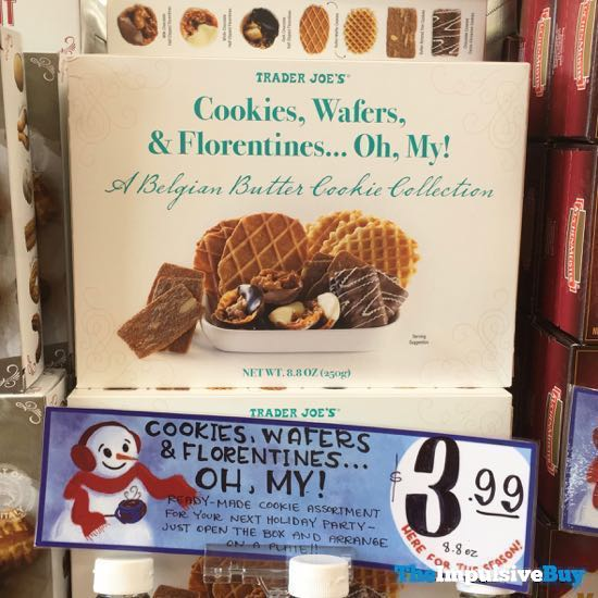 Trader Joe s Cookies Wafers  Florentines Oh My
