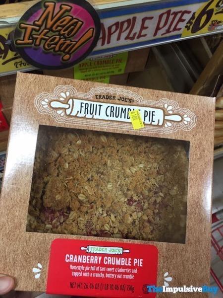 Trader Joe s Cranberry Crumble Pie