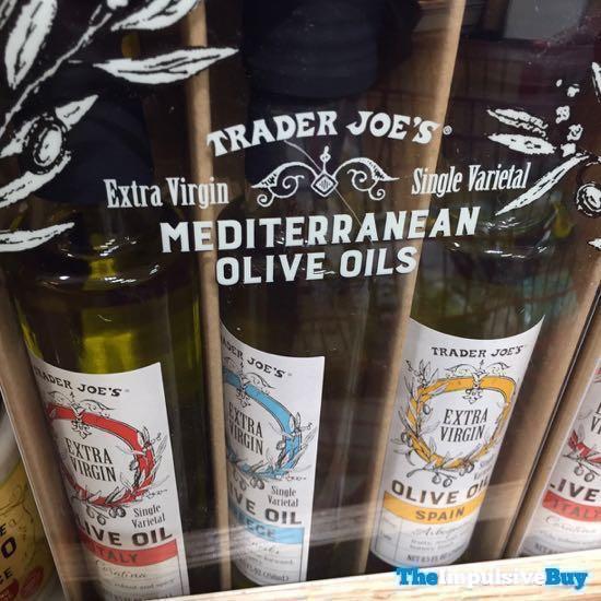 Trader Joe s Extra Virgin Single Varietal Mediterranean Olive Oils